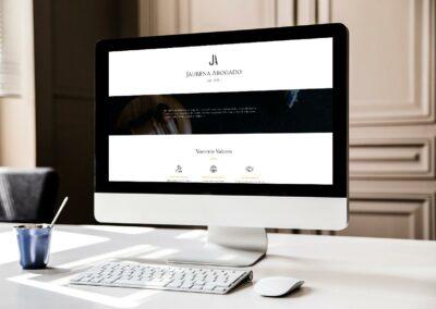 Página web Jaurena Abogados
