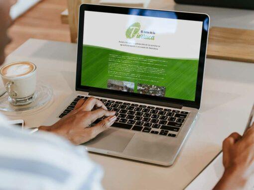 Web y tienda online – El arte de la tierruca